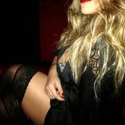 Labbra rosse e blackstyle